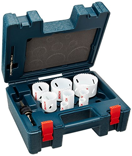 Bosch HB19EL 19-Piece Electrician Bi-Metal Hole Saw Set