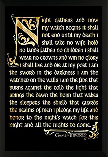 Game of Thrones Night's Watch Oath Epic Fantasy Action HBO T
