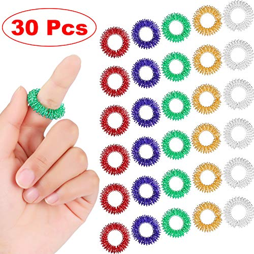 30 Pieces Spiky Sensory