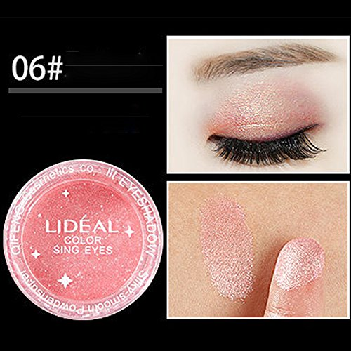 RedBrowm 6PC Cosmetic Powder Smoky Eyeshadow Palette Makeup Set Matt 35 Colors Available -