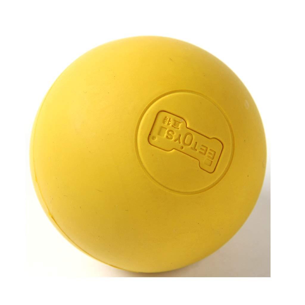 Lxrzls Snug Rubber Dog BallsPuppy Small Medium Large Dog Toys Balls Solid- Tennis Ball Size