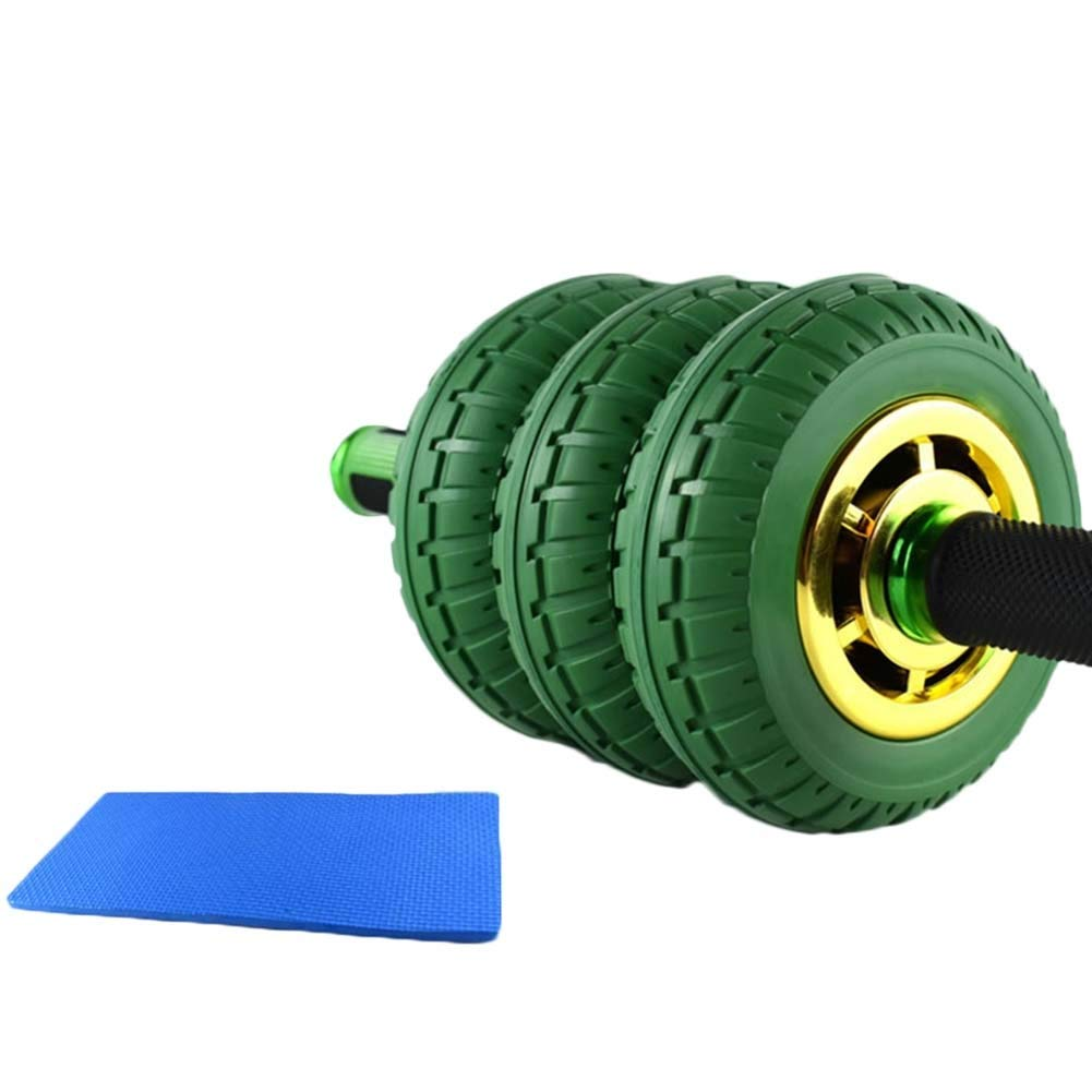 JIANFEI アブホイール模造タイヤデザイン ラバーグリップ 耐摩耗性 ジム 、3色 、3種類 (色 : Green, サイズ さいず : A) A Green B07PBZ8DSK