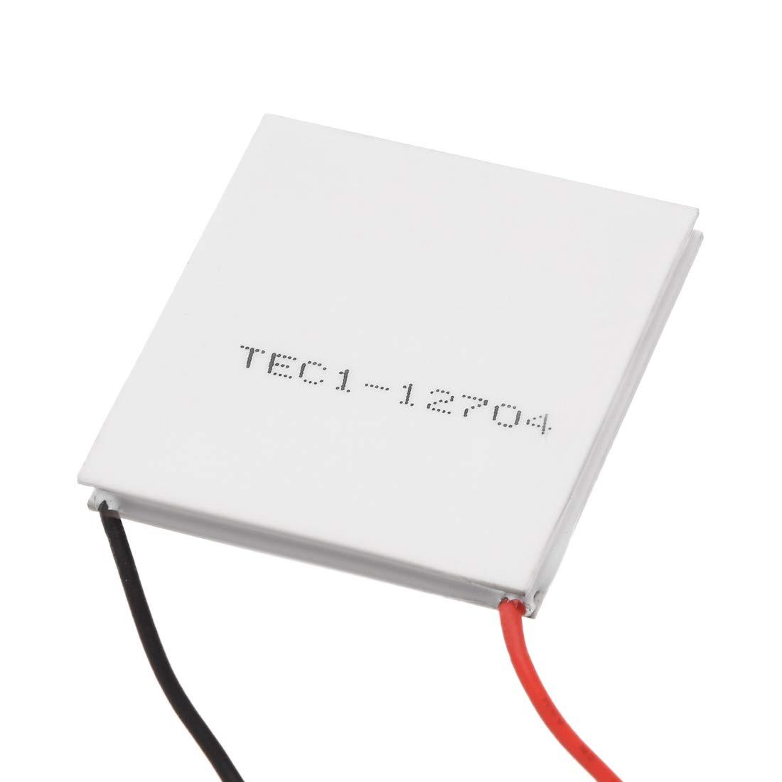sourcingmap TEC1-12706 Thermoelectric Cooler Heat Sink Cooling Peltier 12 Volt 50-60 Watt