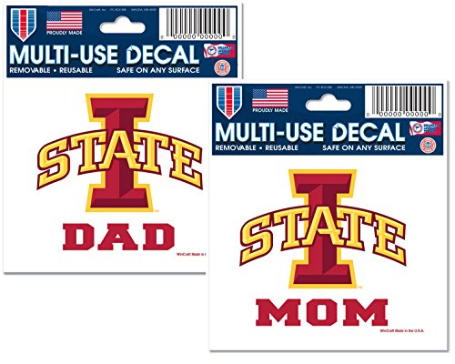 Iowa State University Mom and Dad Parent Fan Pack 3
