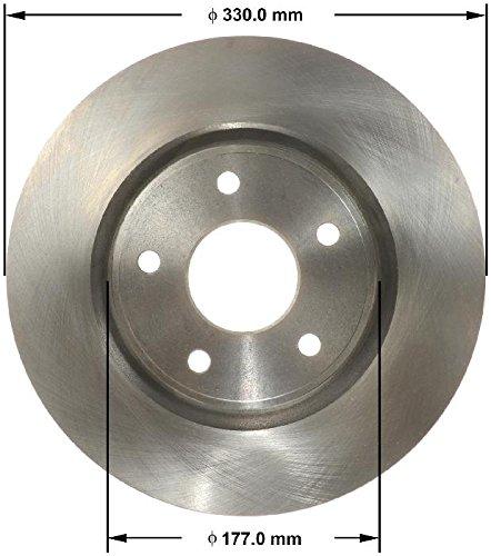 Bendix PRT6170 Metallic Brake Rotor