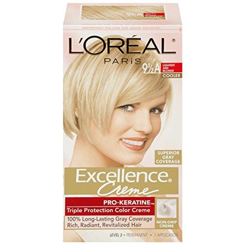 L'Oreal Excellence Creme - 9-1/2A Lightest Ash Blonde (Cooler) 1 (Blonde Creme)