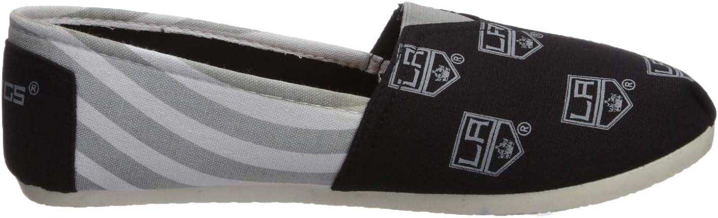 FOCO NHL Unisex-Adult NHL Canvas Stripe Shoe Womens
