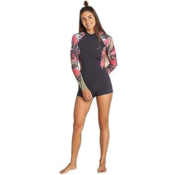 BILLABONG - Traje de Neopreno Corto para Mujer (2 mm): Amazon.es ...