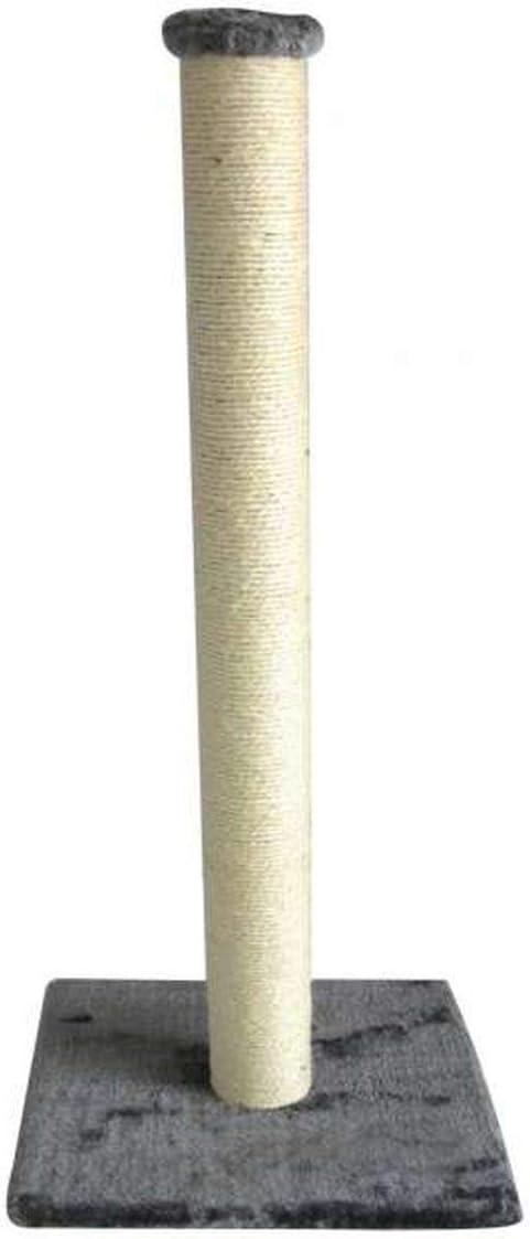 Ebi Europet - Rascador para Gatos (90 cm), Color Gris Claro