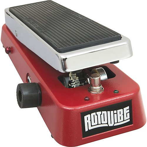 Dunlop JD4S Rotovibe Guitar Vibrato and Chorus Pedal w/Bonus Dunlop Deluxe Variety Pick-Pack 7-10137-00649-2