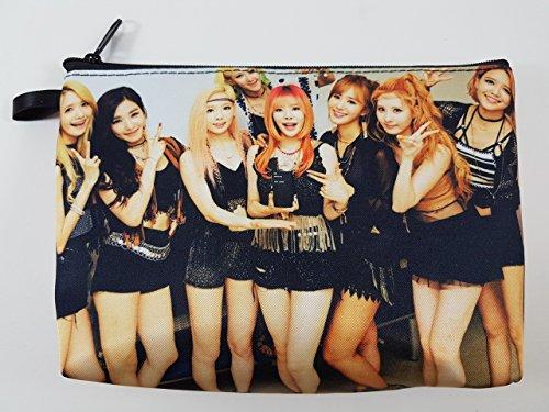 SNSD GIRLS' GENERATION KPOP Korean Girl Group Zip Pen Pencil /Cosmetic Makeup Case Bag Pouch - York Prada New