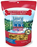 Natural Balance L.I.T. Limited Ingredient Dog Treats (Sweet Potato & Bison, 2-Pack)