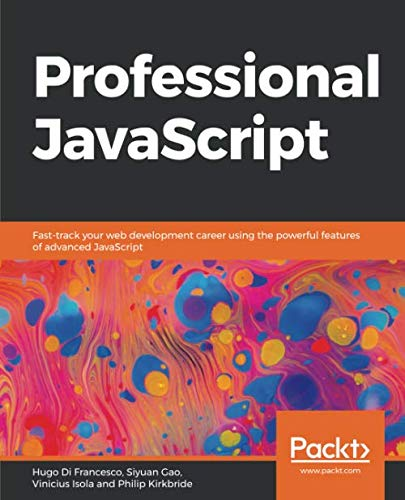 Professional JavaScript Front Cover
