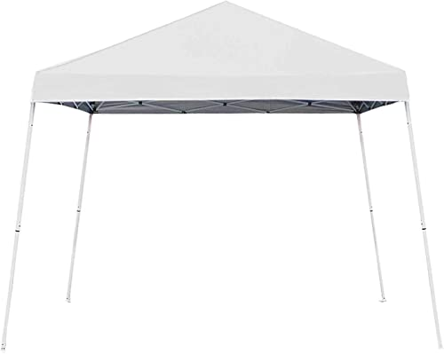 Z-Shade 10' x 10' Angled Leg Instant Shade Canopy Tent Portable Shelter