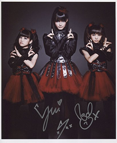 Babymetal Baby Metal (Band) SIGNED Photo 1st Generation PRINT Ltd 150 + Certificate (4) -
