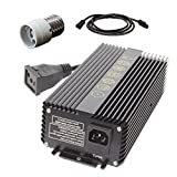 Prism Lighting Science 315 Watt Ceramic Metal Halide CMH Ballast Conversion Kit with Smart Volt Power Cable and Mogul Socket Adapter | Variable 120/240 Volt | Built in Ignition Failure Protection