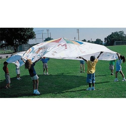 6' Color-Me Playchutes Parachute by S&S Worldwide