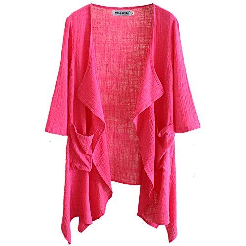 Najia Symbol Womens Sleeve Cardigan