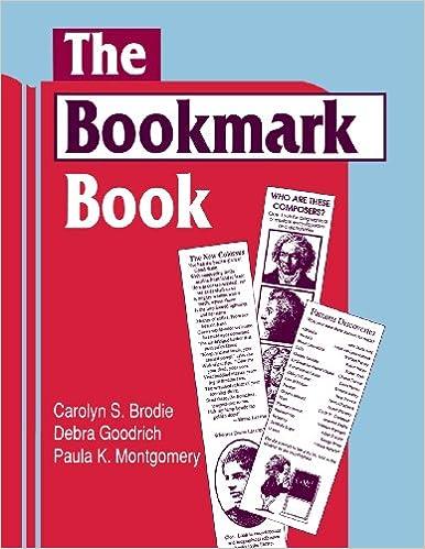 Book The Bookmark Book (Cut 'n Clip)