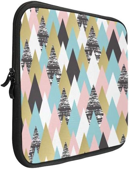 Unique Custom Arrowhead Multicolor Pen Print Laptop Briefcase Bag for Men Soft Laptop Carry Case Briefcase Protective for MacBook Air 11