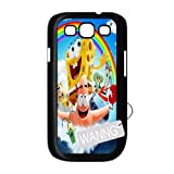 Spongebob And Patrick Samsung Galaxy S3 I9300 Cell Phone Case, Spongebob And Patrick Custom Case for Samsung Galaxy S3 I9300 at WANNG