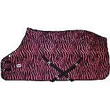 Derby Originals Zebra Print Fleece Sheet or Blanket Liner