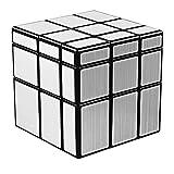 Coogam Qiyi Silver Mirror Cube 3x3 Mirror Blocks Speed Cube Shape Mod Puzzle Toy