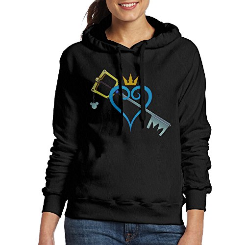 Kingdom Hearts Heart And Sword Athletic Womens Sweatshirt Crewneck