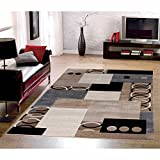 Contemporary Casandra Area Rug Home Decor Discount Rugs Living Family Bed Room Floor Carpets (7 ft. 8 in. x 5 ft. 3 in.)