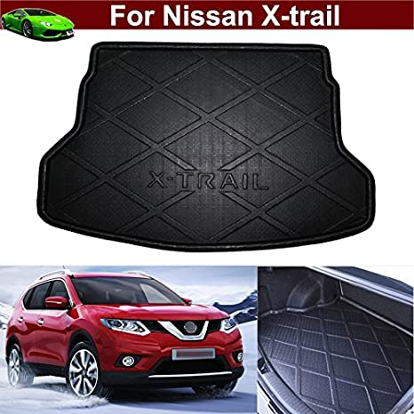 For Nissan X-trail Xtrail 2014-2018 Rear Trunk Cargo Boot Liner Floor Mat Waterproof Car Accessories Tray Carpet Protector Floor Mats
