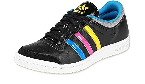 adidas Top Ten Low Sleek W – Zapatillas, Black/Blue/Sun, 40 2/3: Amazon.es: Deportes y aire libre