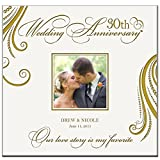Personalized Mr & Mrs 30th Wedding Anniversary Gifts Our Love Story Is My Favorite Photo Album Holds 200 4x6 Photos Wedding Gift Ideas Made By LifeSong Milestones