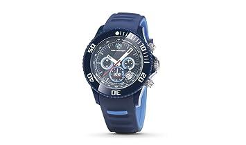 Reloj de pulsera de BMW Motorsport Chrono con correa de silicona resistente al agua.