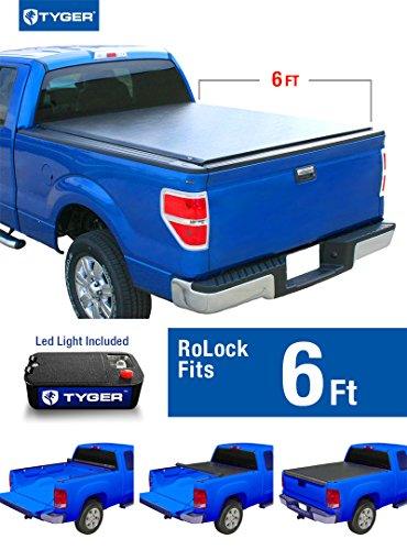 Tyger Auto TG-BC2C2055 RoLock Low Profile Roll-Up Truck B...