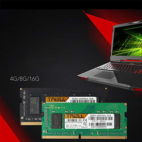 Ocamo Memoria RAM DDR4 4GB / 8GB para laptops portátiles 8Gb