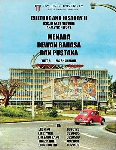 Descargar En Torrent Culture And History Ii Research Report: Menara Dewan Bahasa Dan Pustaka Ebook PDF