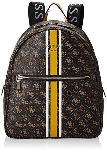 Guess Vikky Backpack, BAGS HOBO para Mujer, marrón, Talla única