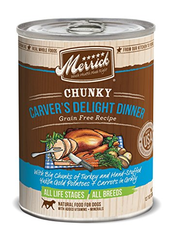 Merrick Chunky Recipe Wet Dog Food 12.7 oz, 12 count