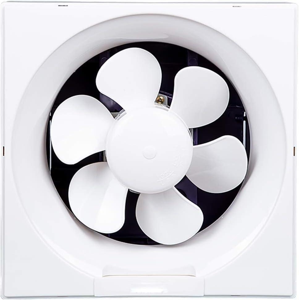 Ventilador de ventilación doméstico Extintor De Escape De La Cocina Campana Extractora Extintor De Hogares Potente Ventilador Silencioso Ventana Tipo Tipo Muro LITING (Size : 10 in)