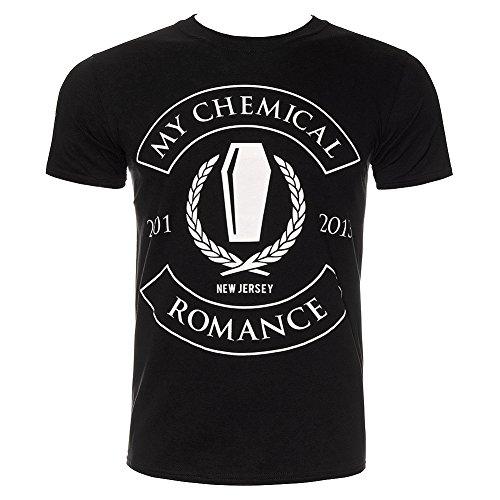 My Chemical Romance Unisex-adults Coffin Rocker T Shirt - Small, Black