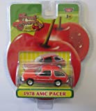 Fresh Cherries Die-Cast Replicas 1978 Red AMC Pacer Classic Car by Motor Max