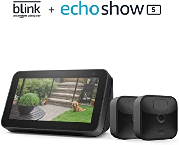 Blink Outdoor 2-Camera System  + Echo Show 5 (2nd Gen)