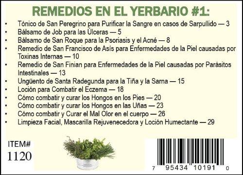 Amazon.com: Yerbario De Acné Sarpullido, Hongos Y Otras ...