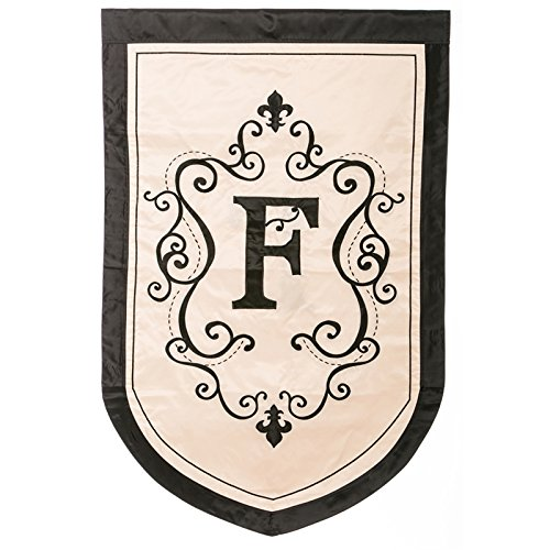 Regal Monogram Estate Flag - F (Regal Monogram)