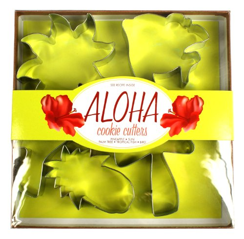 Fox Run Aloha Cookie Cutter (Fox Run Cookie Cutters)