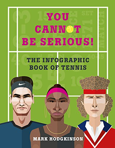 Roland Garros Clay (You Cannot Be Serious! The Graphic Book of Tennis: Grand slams, players and fans, and all the tennis trivia possible)