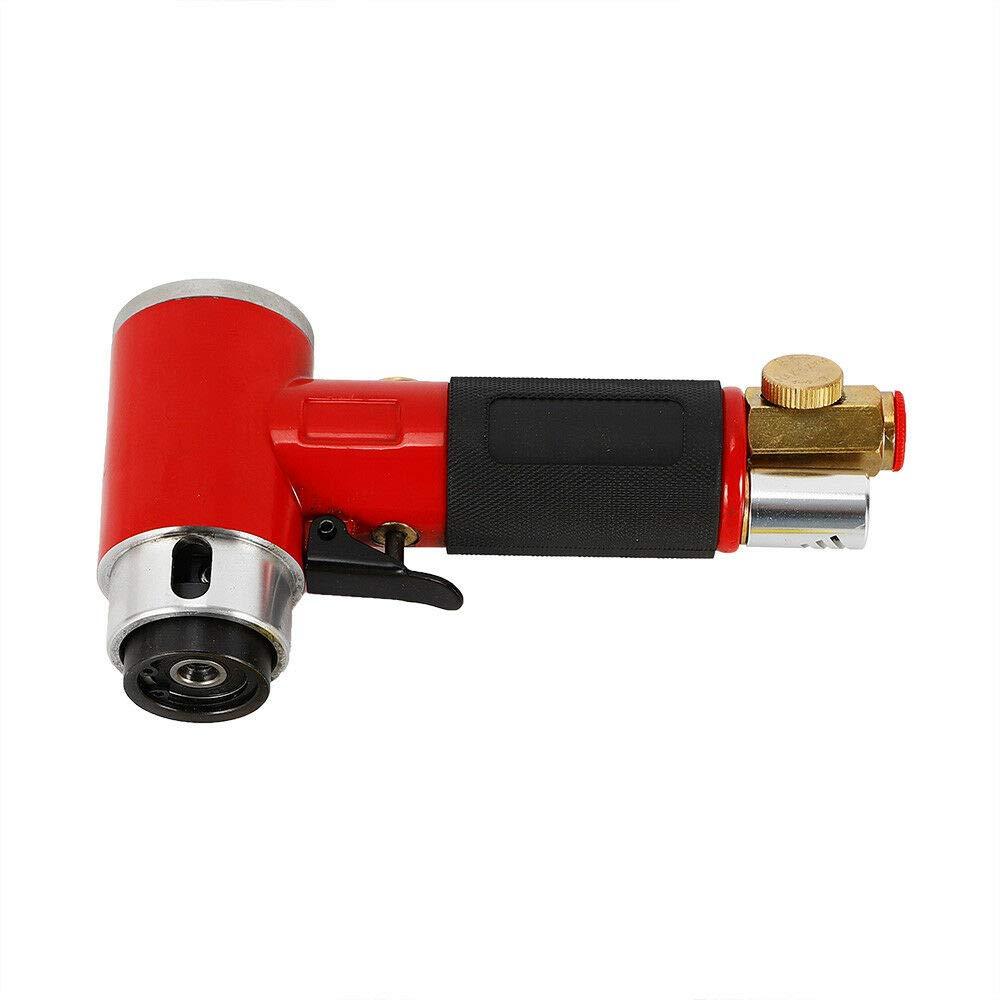 MINUS ONE Luft Winkelschleifer Mini 8 Bar Exzenterschleifer Druckluft Poliermaschine /Ø 50mm