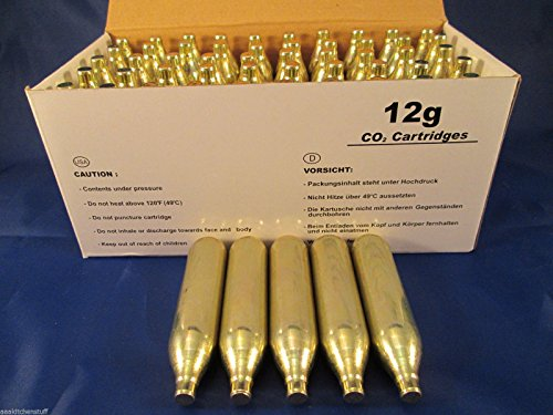 CO2 cartridges NON THREADED paintball airsoft product image