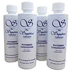 4 Bottles of Waterbed Conditioner Solution 8 oz. each bottle. 32 oz total. Blue Magic Sapphire Waterbed Conditioner. 8 fl oz bottle(s). Treat your waterbed mattress with the proper water treatment conditioners to keep the water in excellent s...