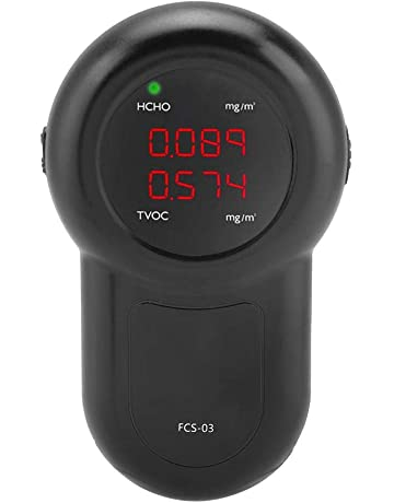Monitor De Calidad del Aire Detector De Formaldehído Probador Digital Portátil Protección De La Salud Medidor
